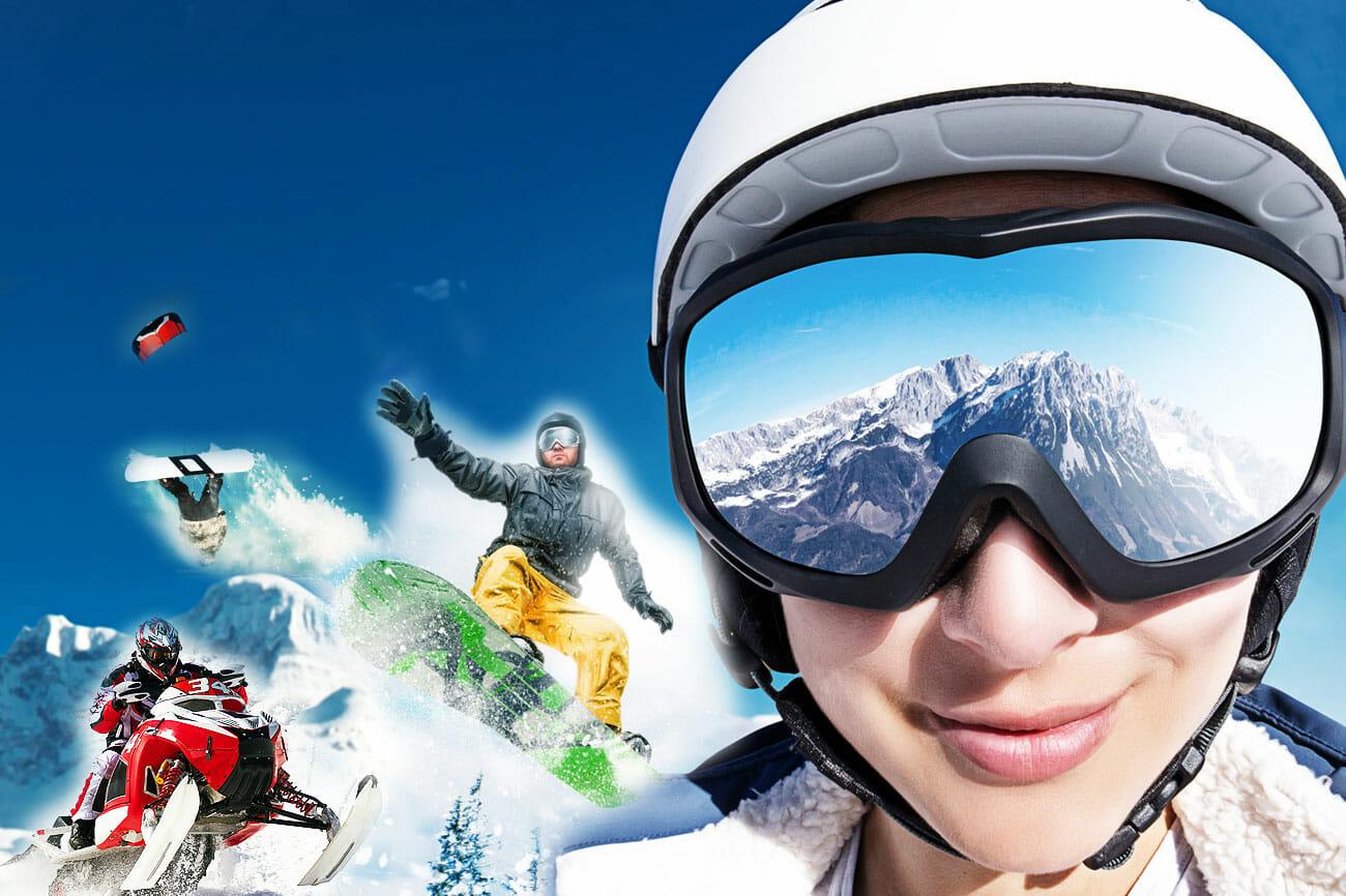 Wintersport: alles außer Skifahren