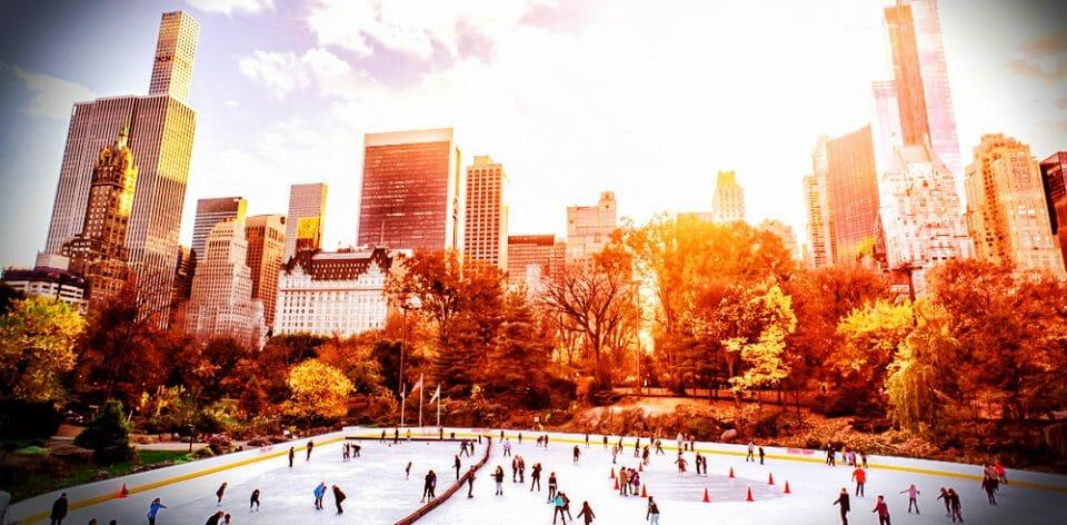Eislaufen - frostiges Vergnügen in zauberhafter Kulisse