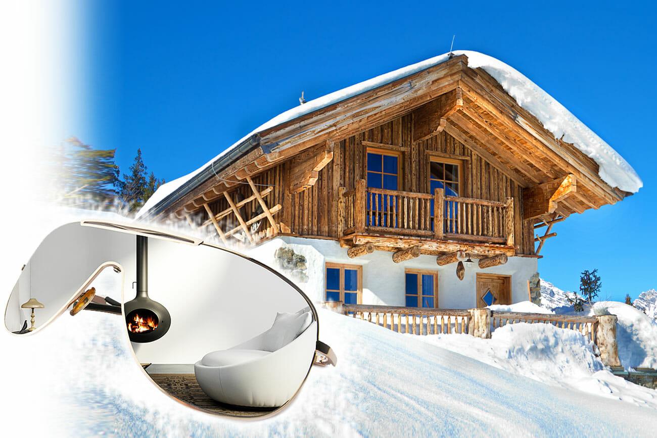Die schönsten Hütten & Hotels für puren Winterspaß