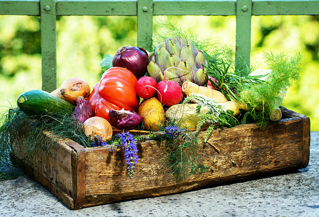 Obst, Gemüse, Kräuter & Co - Delikatessen