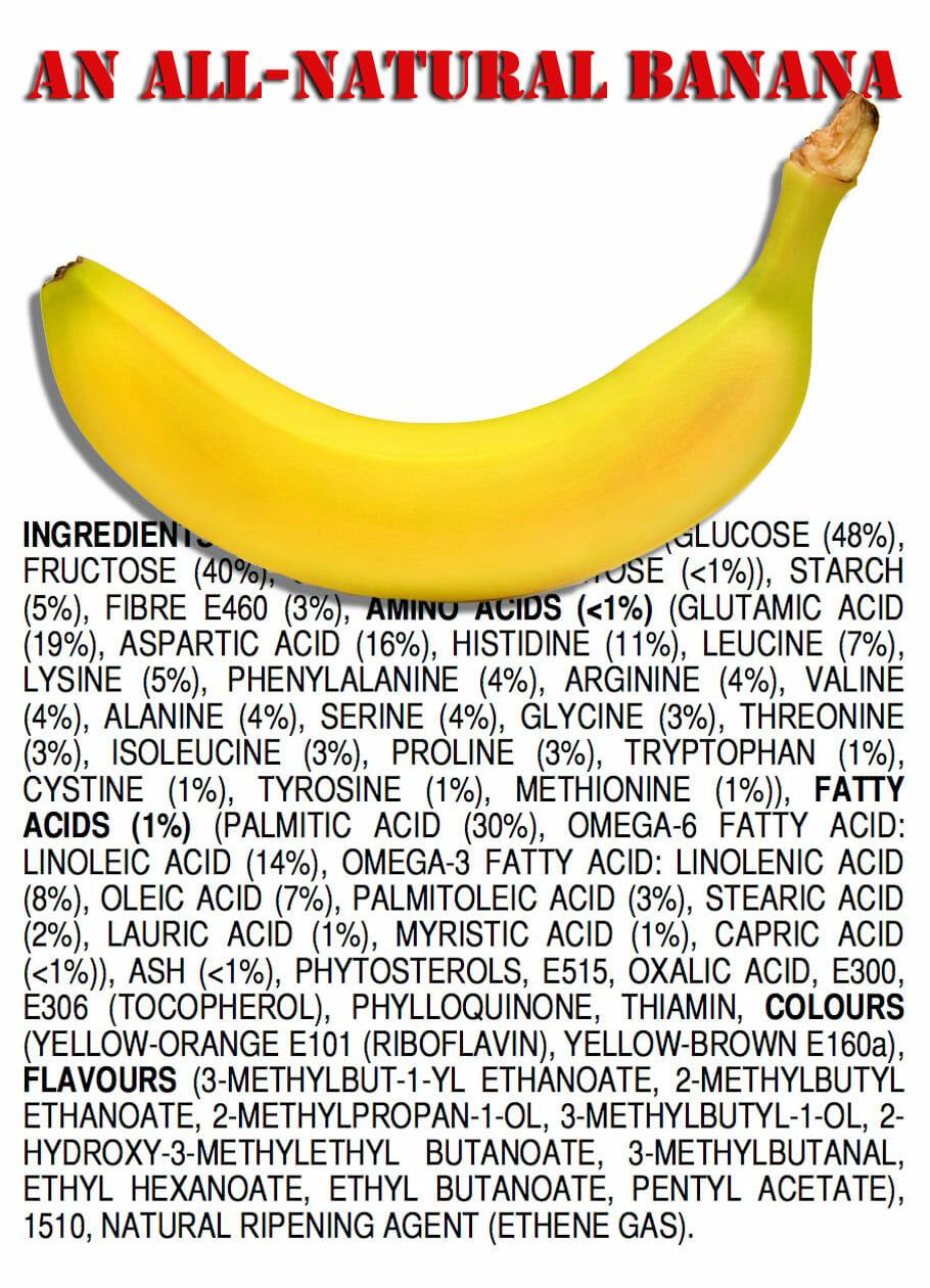 Inhaltsstoffe Banane
